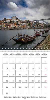 PORTUGAL'S BEAUTY (Wall Calendar 2019 300 × 300 mm Square) - Produktdetailbild 9