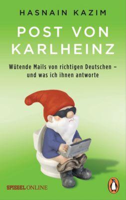 Post von Karlheinz, Hasnain Kazim