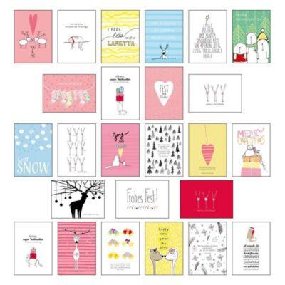 Postkarten-Set Weihnachten - Lisa Wirth  