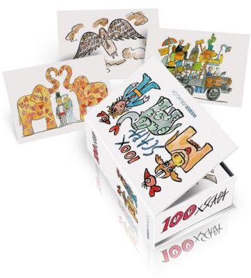 Postkartenbox 100 x Scapa, Ted Scapa