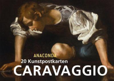 Postkartenbuch Caravaggio, Michelangelo da Caravaggio