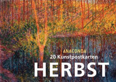 Postkartenbuch Herbst, Anaconda