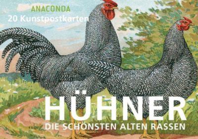 Postkartenbuch Hühner, Anaconda