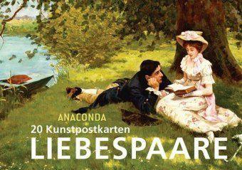 Postkartenbuch Liebespaare - Anaconda |