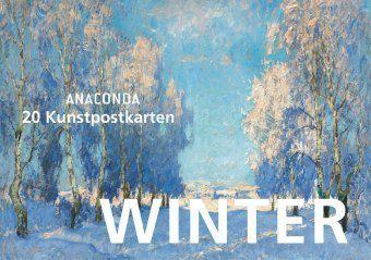 Postkartenbuch Winter, Anaconda