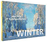 Postkartenbuch Winter - Produktdetailbild 1
