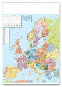 Postleitkarte Europa 1:3,5 Mio., Planokarte -  pdf epub