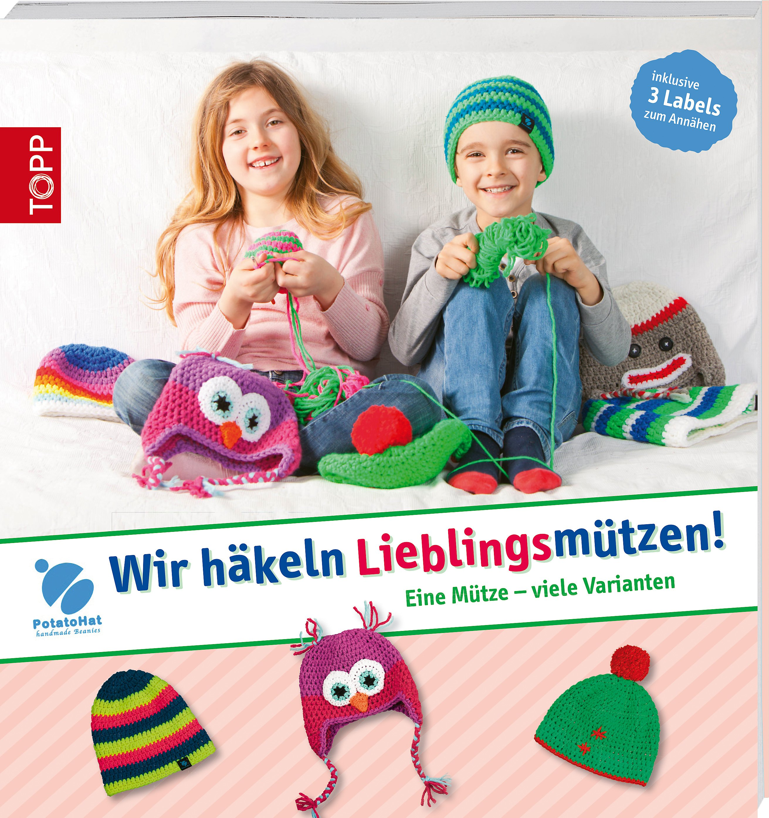 Potatohat Wir Häkeln Lieblingsmützen Buch Portofrei Weltbildde