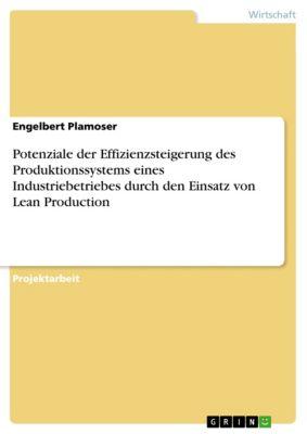 Potenziale der Effizienzsteigerung des Produktionssystems eines Industriebetriebes durch den Einsatz von Lean Production, Engelbert Plamoser