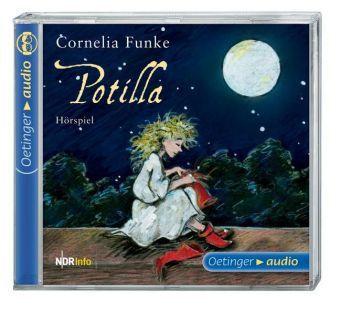 Potilla, Audio-CD, Cornelia Funke