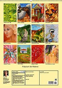 Potpourri der Malerei (Wandkalender 2019 DIN A2 hoch) - Produktdetailbild 1