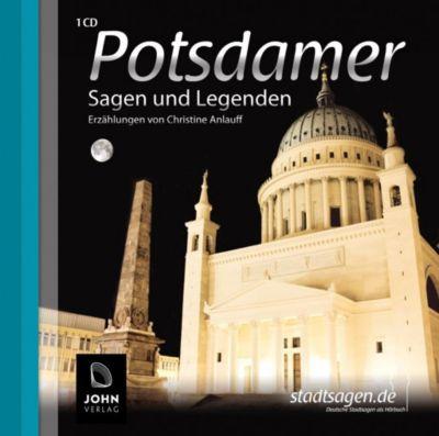 Potsdamer Sagen und Legenden, 1 Audio-CD, Christine Anlauff