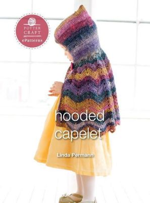 Potter Craft ePatterns: Hooded Capelet, Linda Permann