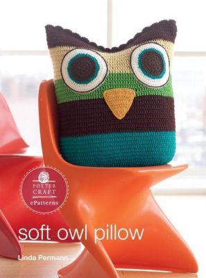 Potter Craft ePatterns: Soft Owl Pillow, Linda Permann