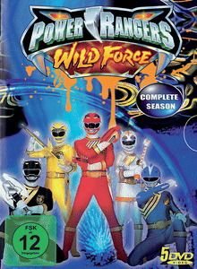 Power Rangers - Wild Force Complete, Power Rangers