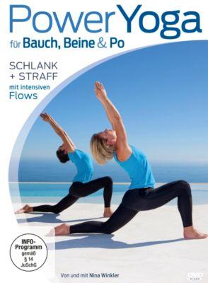 Power Yoga für Bauch Beine Po, Nina Winkler