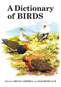 Poyser Monographs: Dictionary of Birds, Bruce Campbell, Elizabeth Lack