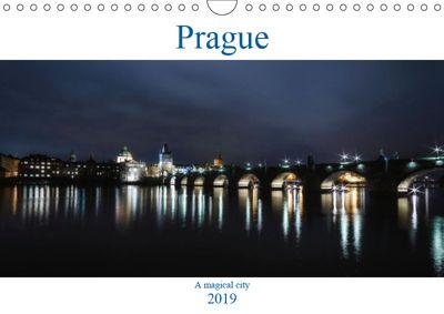 Prague - A Magical City (Wall Calendar 2019 DIN A4 Landscape), Andrew Proudlove