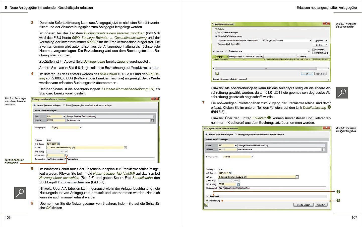 Prasicnahe Anlagenbuchhaltung Mit Datev Kanzlei Rechnungswesen Buch