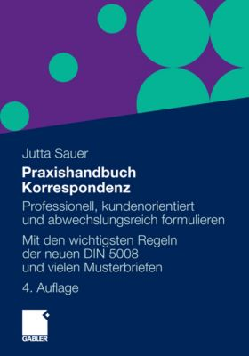 Praxishandbuch Korrespondenz, Jutta Sauer