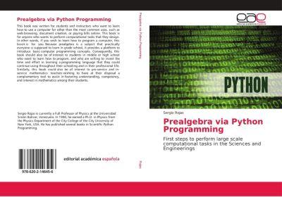 Prealgebra via Python Programming, Sergio Rojas