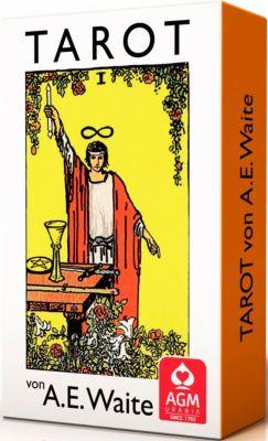 Premium Tarot von A.E. Waite, Tarotkarten (Standardformat), Arthur E. Waite
