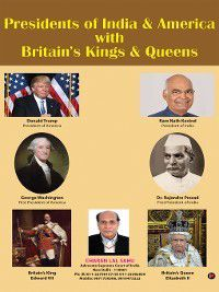 Presidents of India & America with Britain's Kings & Queens, Charan Lal Sahu