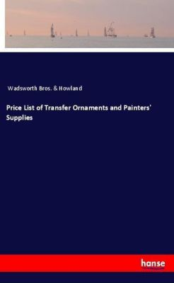 Price List of Transfer Ornaments and Painters' Supplies