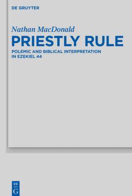 Priestly Rule, Nathan MacDonald