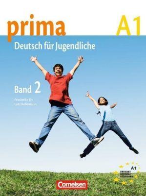 Prima - Deutsch für Jugendliche/junge Erwachsene: Bd.2 Schülerbuch, Grammatiki Rizou, Friederike Jin, Lutz Rohrmann