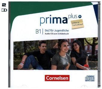 Prima plus - DaZ für Jugendliche, Leben in Deutschland: B1 - Audio-CDs zum Schülerbuch