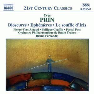 Prin: Dioscures, Ephémères & Le souffle d'Iris, Artaud, Graffin, Post, Ferrandis