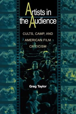 Princeton University Press: Artists in the Audience, Greg Taylor
