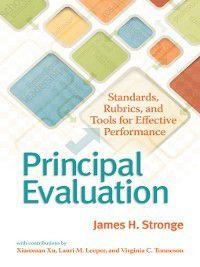 Principal Evaluation, James H. Stronge, Lauri M. Leeper, Xianxuan Xu