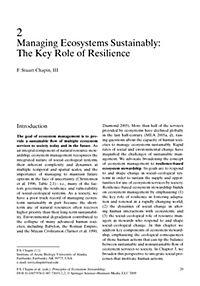 Principles of Ecosystem Stewardship - Produktdetailbild 1