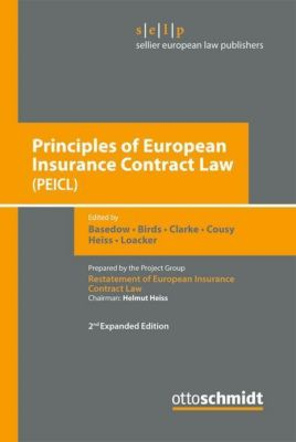 Principles of European Insurance Contract Law