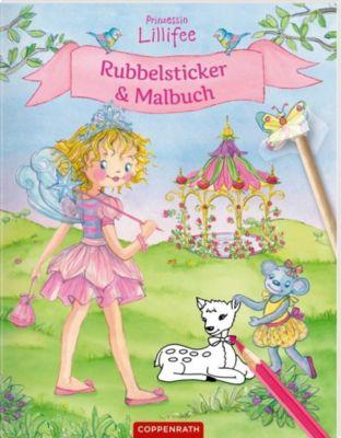 Prinzessin Lillifee - Rubbelsticker & Malbuch