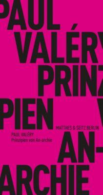 Prinzipien von An-archie, Paul Valéry