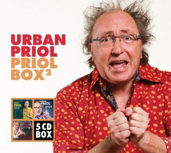 Priol Box 2, 5 Audio-CDs, Urban Priol