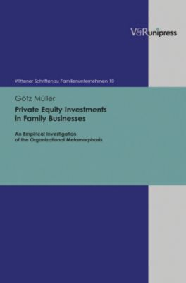 Private Equity Investments in Family Businesses Buch portofrei