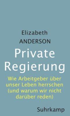 Private Regierung, Elizabeth Anderson