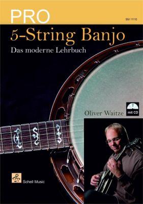 Pro 5-String Banjo, m. Audio-CD, Oliver Waitze