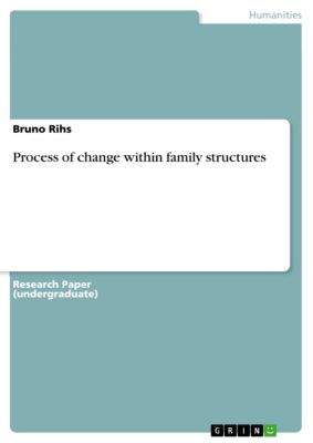 Process of change within family structures, Bruno Rihs