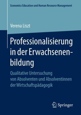 Professionalisierung in der Erwachsenenbildung, Verena Liszt