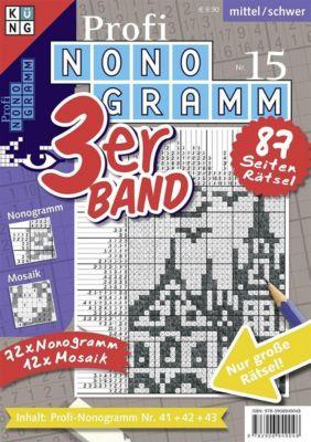 Profi-Nonogramm 3er-Band - Conceptis Puzzles |