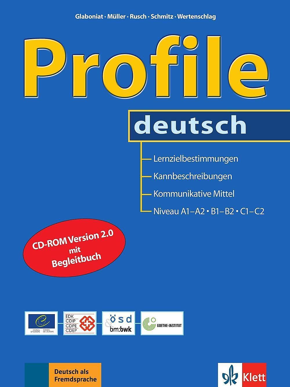 Profile Deutsch Niveau A1 A2 B1 B2 C1 C2 M Cd Rom Weltbildch