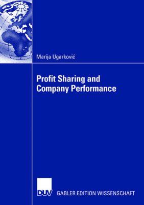 Profit Sharing and Company Performance, Marija Ugarkovic