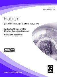 Program: Electronic Library and Information Systems: Program: Electronic Library and Information Systems, Volume 40, Issue 3