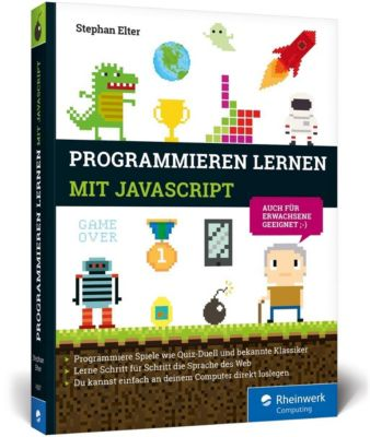 Programmieren lernen mit JavaScript, Stephan Elter
