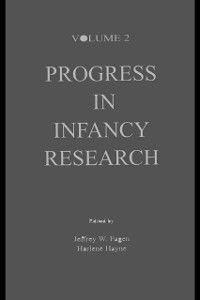 Progress in Infancy Research Series: Progress in infancy Research